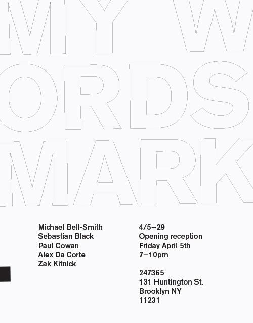 My Words Mark  | Events Calendar