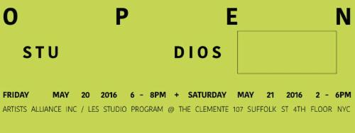 LES Studio Program Open Studios  | Events Calendar