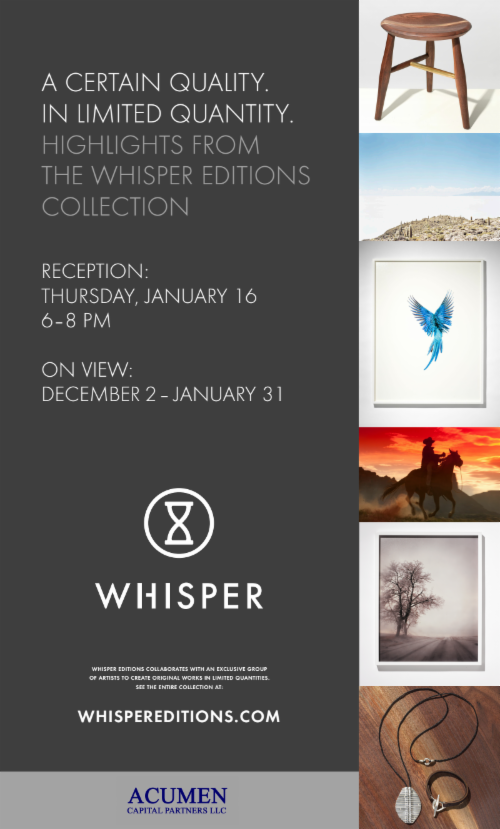 Whisper Collection  | Events Calendar