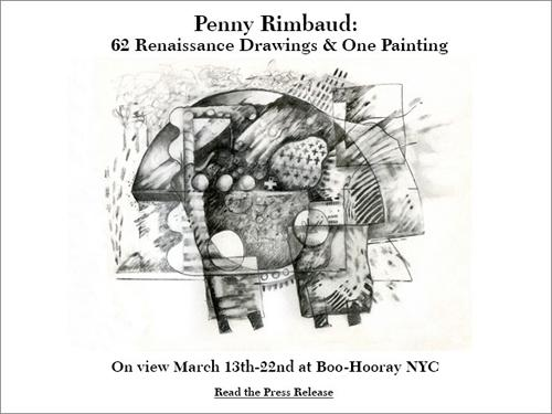 Penny Rimbaud: 62 Renaissance Drawings & One Painting  | Events Calendar
