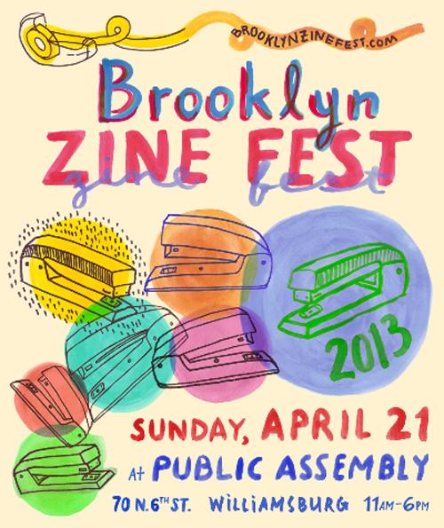 Brooklyn Zine Fest 2013  | Events Calendar