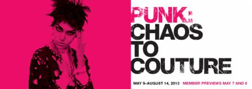PUNK: Chaos to Couture  | Events Calendar
