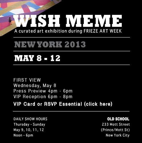 WISH MEME EXHIBITION  | Events Calendar