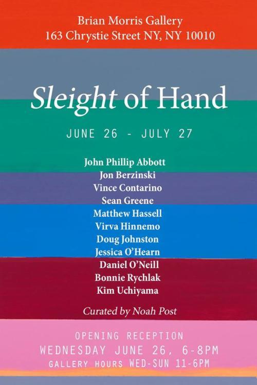 Sleight of Hand  | Events Calendar