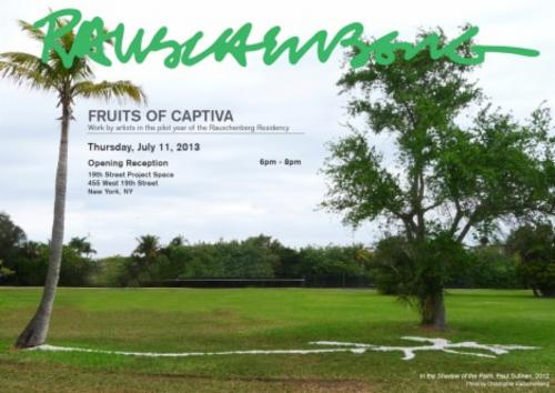 Rauschenberg Residency: Fruits of Captiva  | Events Calendar