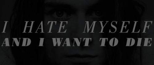I HATE MYSELF AND I WANT TO DIE  | Events Calendar