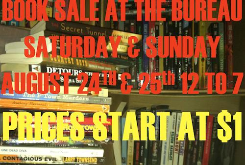 Book Sale at the Bureau  | Events Calendar