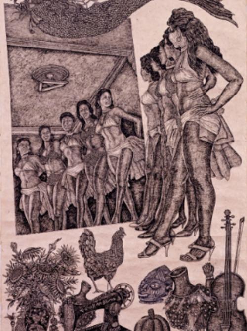 Artists Talk Santos in the City: Manny Vega  | Events Calendar