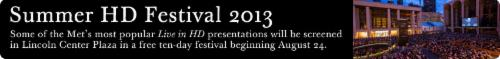 2013 Summer HD Festival Verdi's La Traviata | Events Calendar