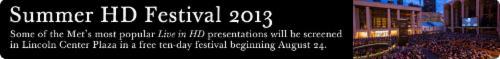 2013 Summer HD Festival Donizetti's Lucia di Lammermoor   Events Calendar