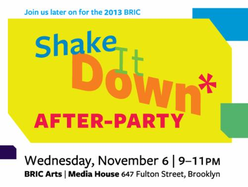 Shake It Down* BRIC's annual fundraising gala | Events Calendar