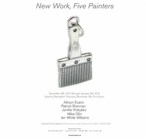 Image for New Work, Five Painters