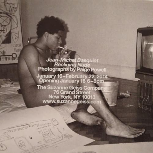 Photography by Paige Powell Jean-Michel Basquiat Reclining Nude | Events Calendar