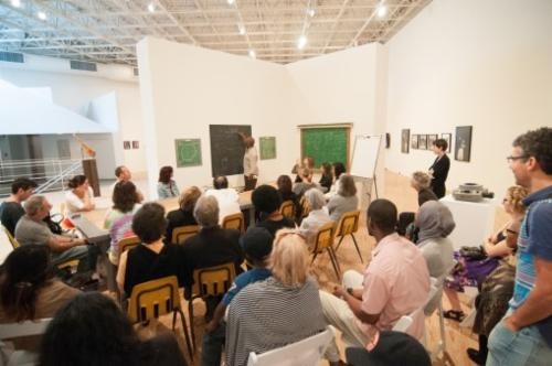 Theaster Gates See, Sit, Sup, Sip, Sing: Holding Court | Events Calendar