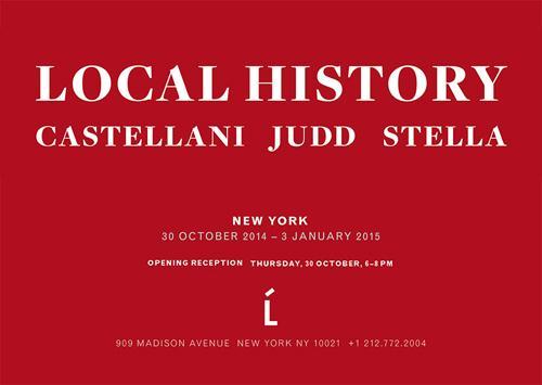 Local History Castellani, Judd, Stella