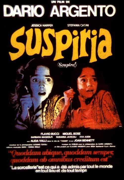 SUSPIRIA  | Events Calendar