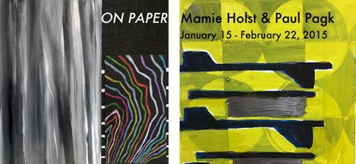 Mamie Holst & Paul Pagk On Paper | Events Calendar