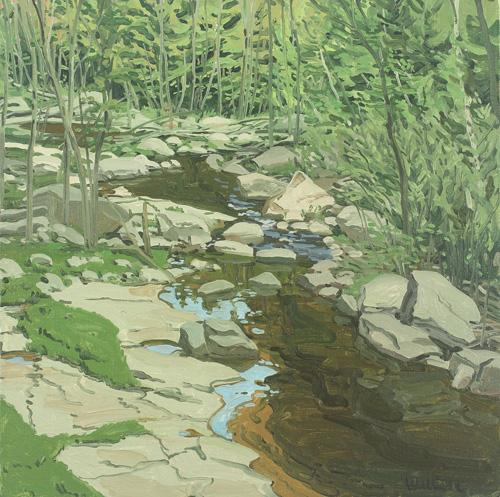 Neil Welliver: Oil Studies Selected Works by Gallery Artists | Events Calendar