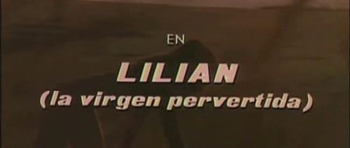 Lilian the Perverted Virgin  | Events Calendar