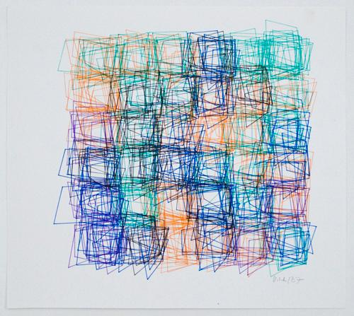 Vera Molnar Regarding The Infinite Drawings 1950-1987 | Events Calendar