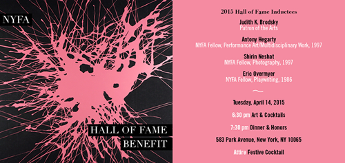 NYFA's Hall of Fame Benefit  | Events Calendar