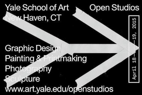 Yale School of Art Open Studios  | Events Calendar