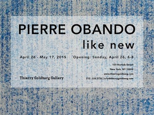Pierre Obando like new | Events Calendar