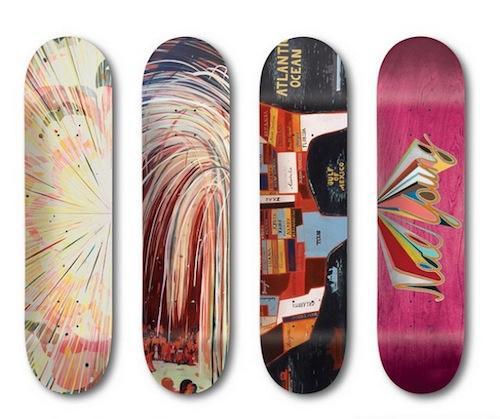 Jules de Balincourt x Girl Skateboard Company  | Events Calendar