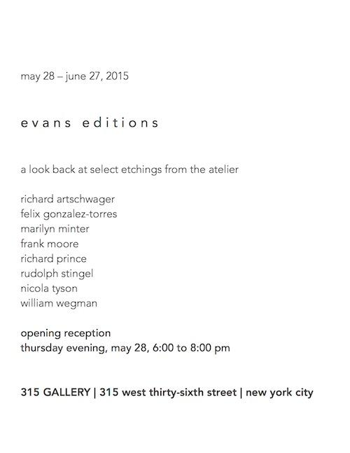 Evans Editions  | Events Calendar
