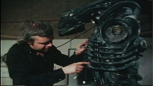Behind the Scenes of HR Giger's Studio  | Events Calendar