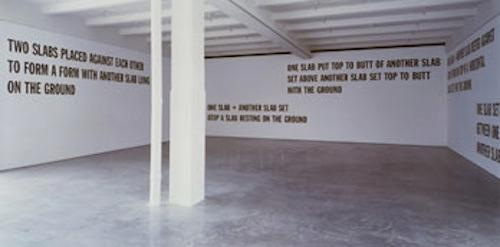 Erica Baum on Lawrence Weiner Artists on Artists Lecture Series | Events Calendar