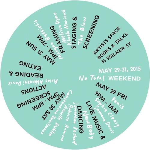 No Total Weekend  | Events Calendar