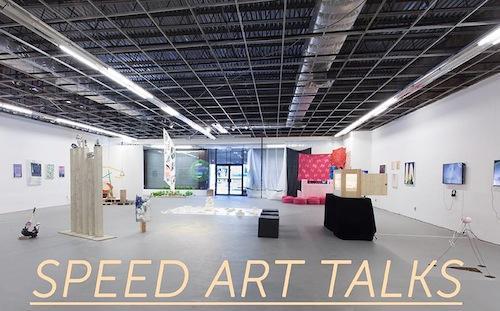Speed Art Talks SVA MFA Fine Arts Thesis Show Closing Event | Events Calendar