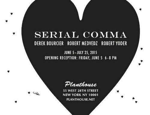 Serial Comma  | Events Calendar