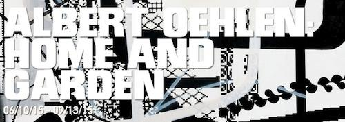 Albert Oehlen Home and Garden | Events Calendar