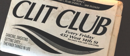 Clit Club Reactivated  | Events Calendar