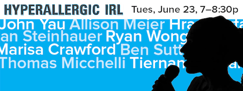 Hyperallergic IRL at Housing Works  | Events Calendar