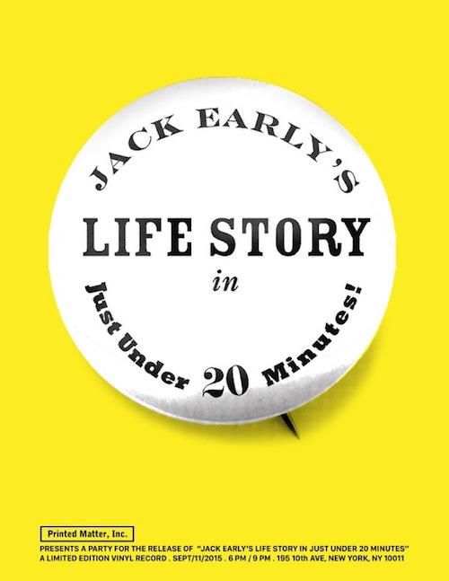Jack Early's Life Story In Just Under 20 Minutes  | Events Calendar