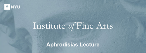Aphrodisias Lecture  | Events Calendar
