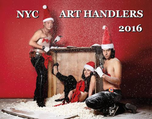 NYC Art Handlers Calendar 2016 Launch  | Events Calendar