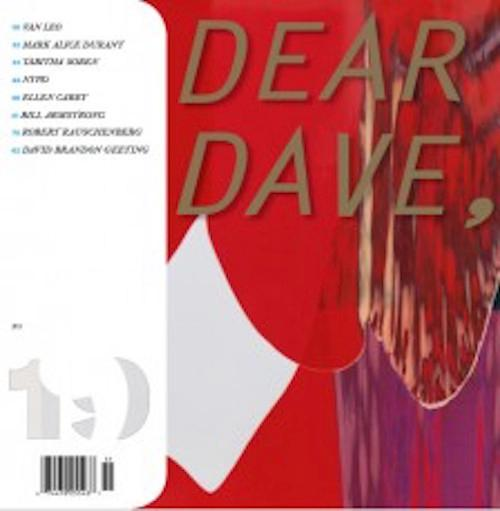 DEAR DAVE  | Events Calendar