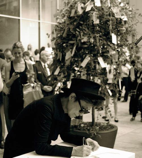 Yoko Ono Wish Tree   Events Calendar