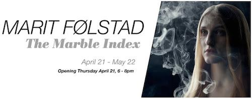 Marit Følstad 'The Marble Index' | Events Calendar
