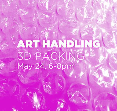 Art Handler Calendar : Art handling workshop learn how to pack dimensional
