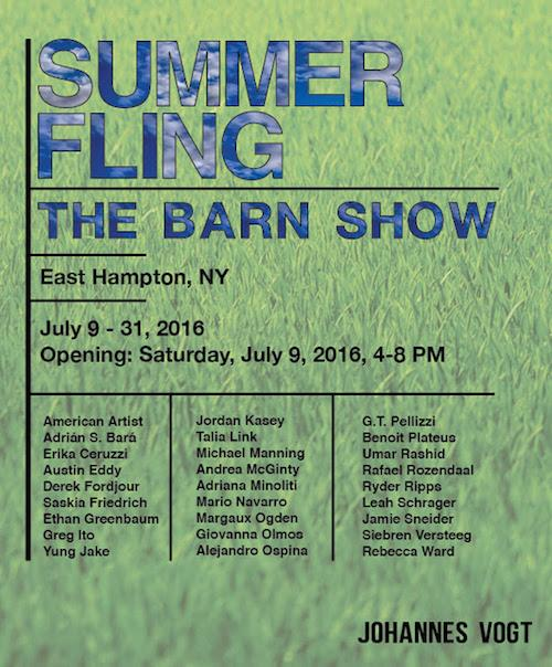 """Summer Fling"" - The Barn Show  