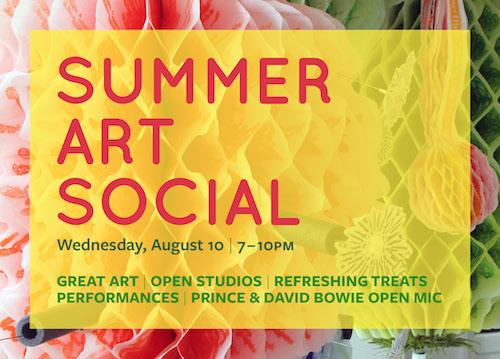 Summer Art Social  | Events Calendar