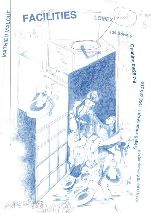 Mathieu Malouf 'Facilities' | Events Calendar