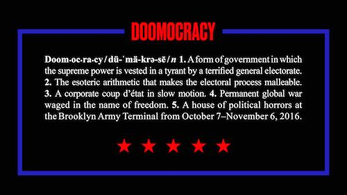 Pedro Reyes 'Doomocracy' | Events Calendar