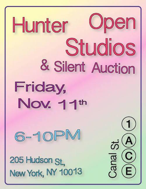 2016 Hunter Open Studios  | Events Calendar