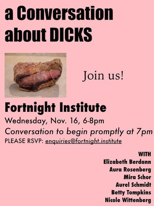 Let's Talk About DICKS  | Events Calendar